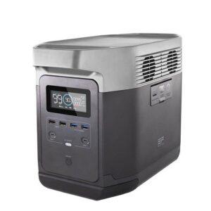 De Ecoflow Delta 1300 EU is compact en weegt nog geen 14 kilogram