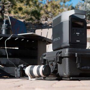 Laad al je foto en video apparatuur op met de Ecoflow Delta 1300
