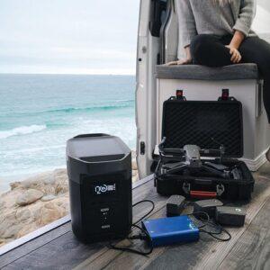 De Ecoflow Delta 1300 voorziet al je apparaten op de camping van stroom