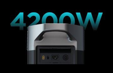Ecoflow Delta Pro maximaal 4200W input