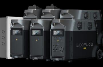 Ecoflow delta Smart Batteries ecosysteem uitbreidbare capaciteit