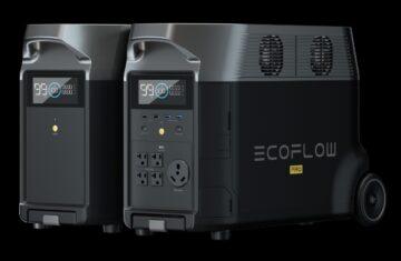Ecoflow delta Smart Batteries ecosysteem met extra batterij